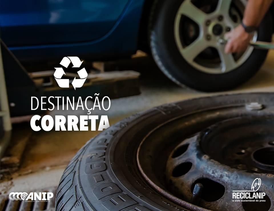 Reciclanip e Prefeitura de Londrina promovem campanha para coleta de pneus
